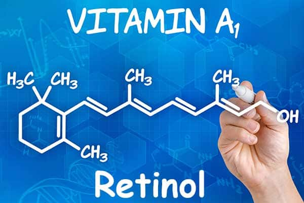 fórmula Vitamina A o Retinol