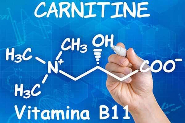 fórmula vitamina B11 o Carnitina