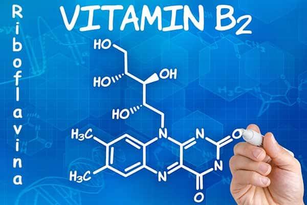 fórmula vitamina B2 o Riboflavina