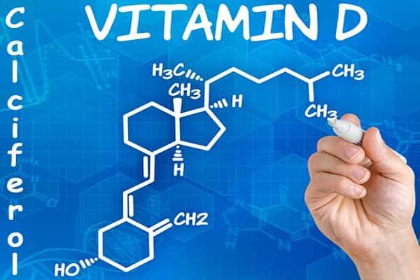 fórmula vitamina D o Calciferol