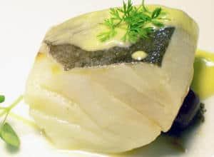 plato de bacalao